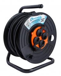 Удлинитель на катушке  Electraline ,30 метров,кабель ПВС сечением 3*2,5мм2