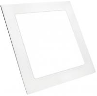 Ультратонкий  светодиодный  светильник 12 Вт  3000 К квадратный TruEnergy 10073. Цвет белый.
