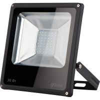 Прожектор светодиодный Gauss LED 50W  IP65 6500К черный