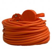 Удлинитель садовый Electroline 20 метров,кабель ПВС 2*1мм2