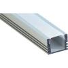"""Профиль алюминиевый """"накладной"""" , серебро, CAB261, Feron 2 метра."""