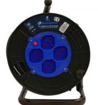 Удлинитель на катушке  Electraline ,25 метров,кабель ПВС сечением 3*1,5мм2