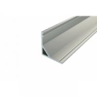 ByLed-SFC-1616 светодиодный профиль угловой, алюминиевый, анодированный без экрана